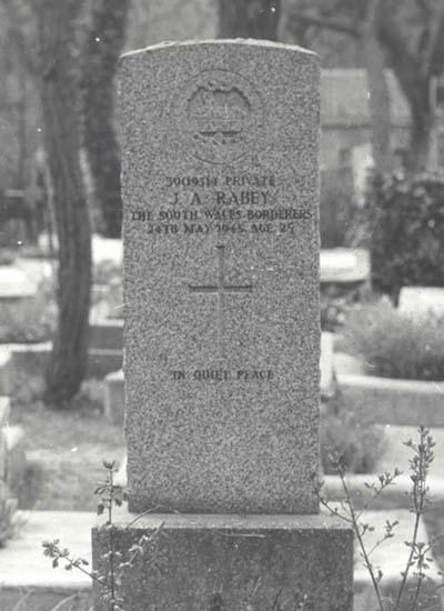 Commonwealth War Grave Odessa