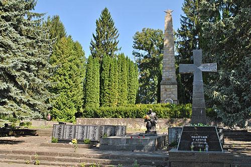 Sovjet Oorlogsgraven Mykulynetskyy Begraafplaats