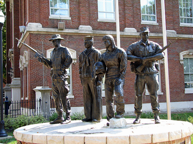 Armed Forces Statue