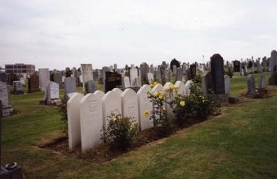 War Graves Mount Vernon Roman Catholic Cemetery