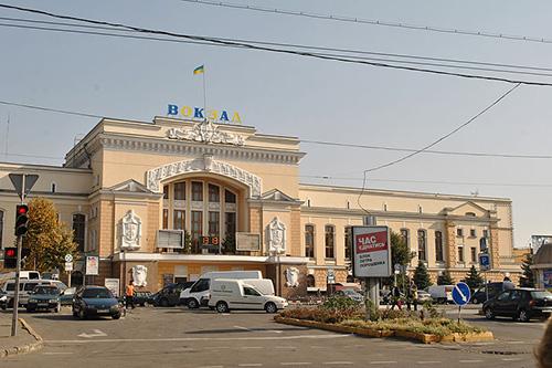 Treinstation Ternopol