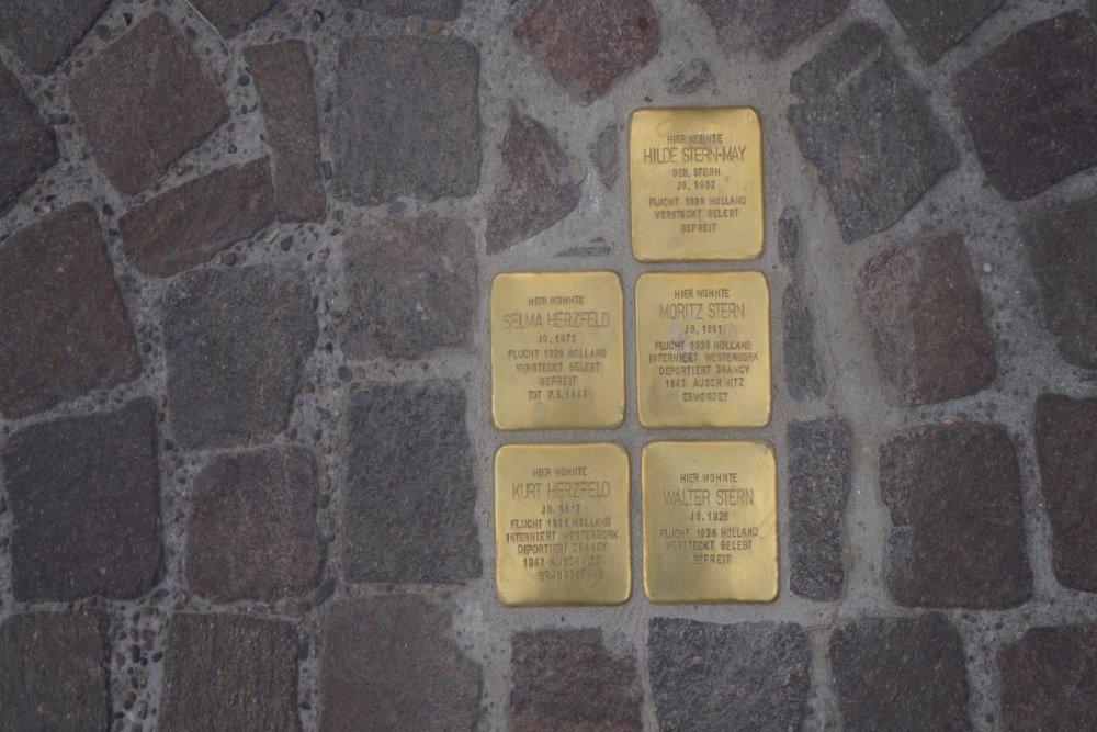 Stumbling Stones Nordstrase 19-23, Bocholt
