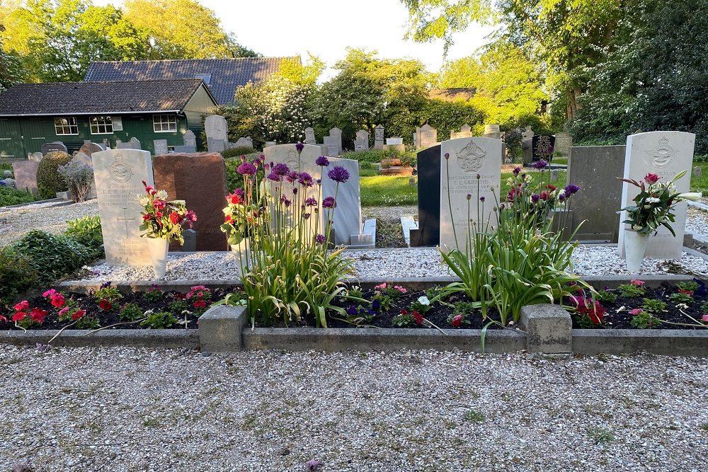 Oorlogsgraven van het Gemenebest Wester Begraafplaats Andijk