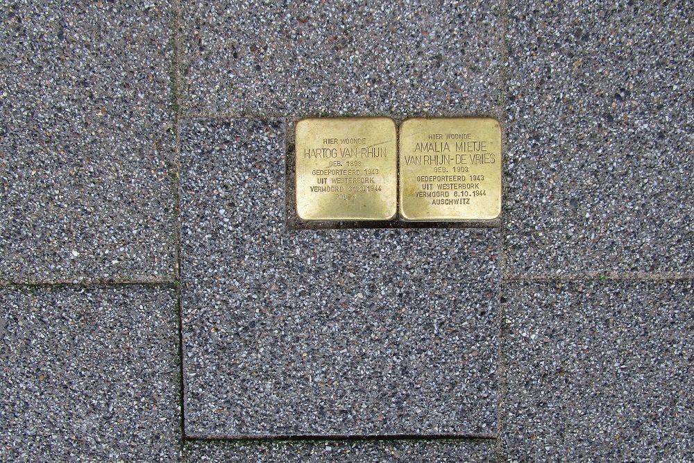 Stumbling Stones Stadhoudersweg 149A