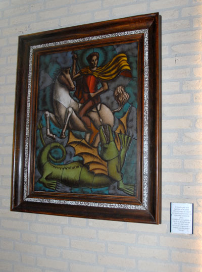 Artwork St. George and the Dragon Haaren