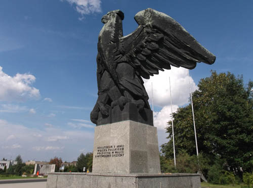 Monument Poolse 2e Leger Zgorzelec