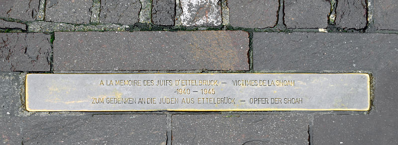 Monument Slachtoffers Holocaust Ettelbruck