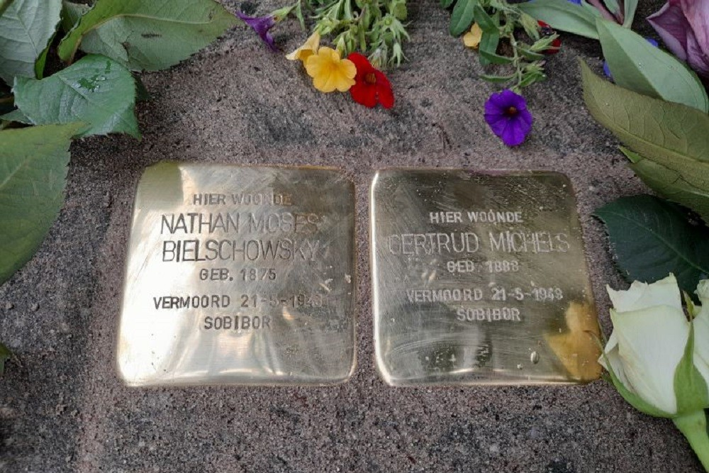 Stumbling Stones Mesdaglaan 39 Arnhem