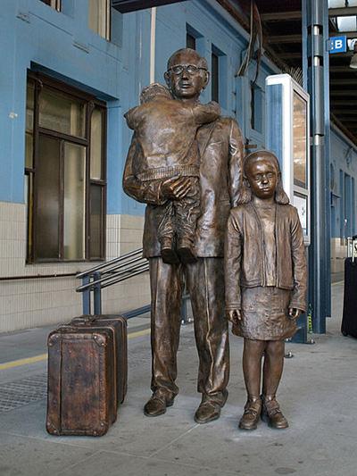 Memorial Czech 'Children Transportation'