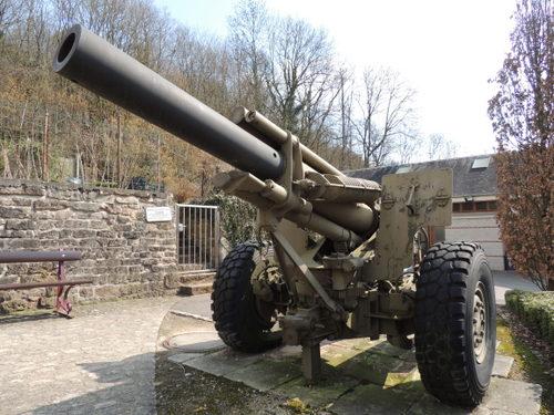 American M114 1555mm Howitzer Diekirch