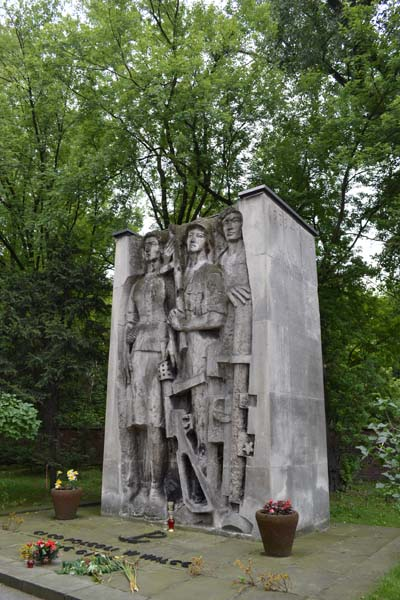 Mass Grave Resistance Members Cracow