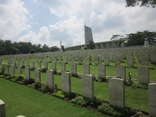 Commonwealth War Cemetery Kranji