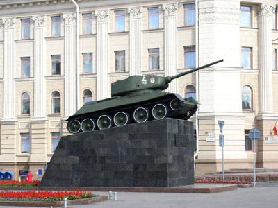 Bevrijdingsmonument (T-34/85 Tank) Minsk