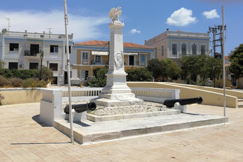 Helden Monument Egina