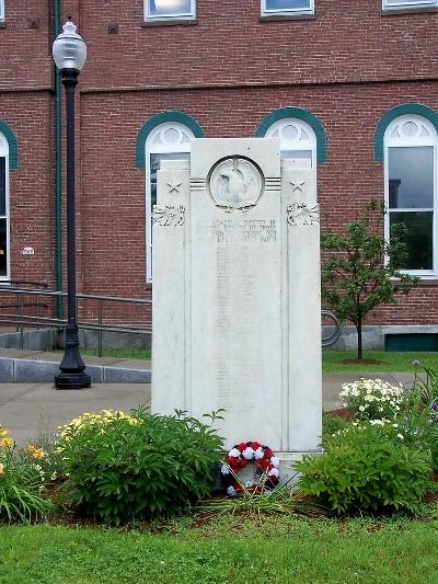 War Memorial St. Johnsbury