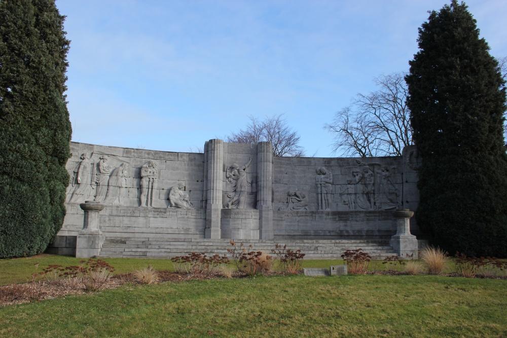 Oorlogsmonument Begraafplaats Robermont