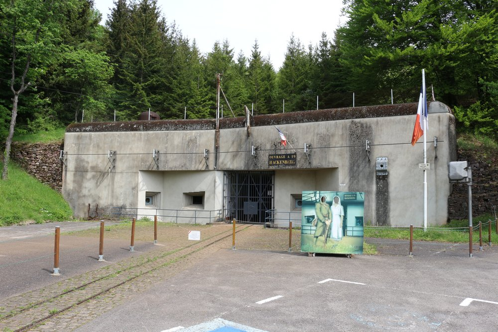 Maginot Line - Fortress Hackenberg