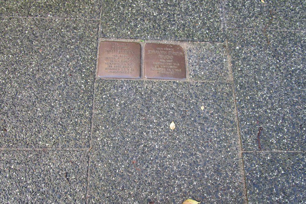 Herdenkingsstenen Van Lansbergestraat 216