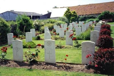 Commonwealth War Graves St. Bartholomew Churchyard - R.N.A.S. Extension