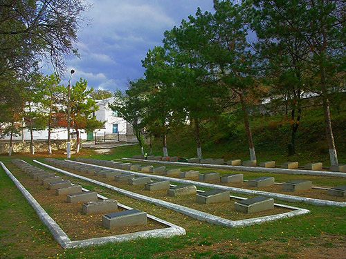 Soviet War Cemetery Bakhchysarai