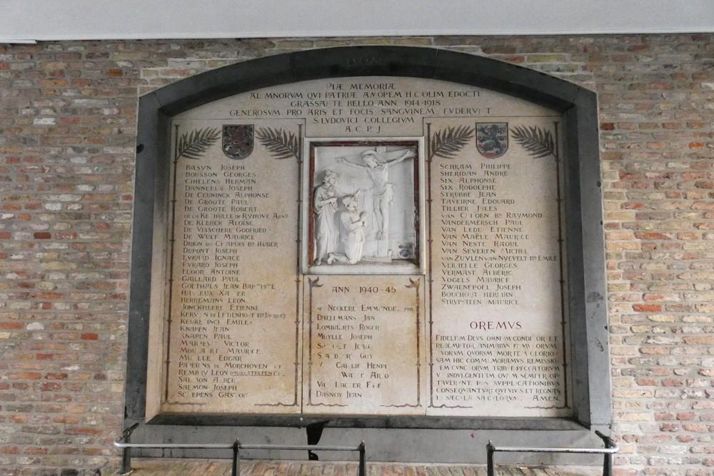 War Memorial 't Zilverpand Bruges