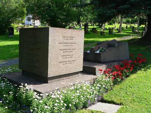 Memorial Killed Norwegian Sea Men Narvik