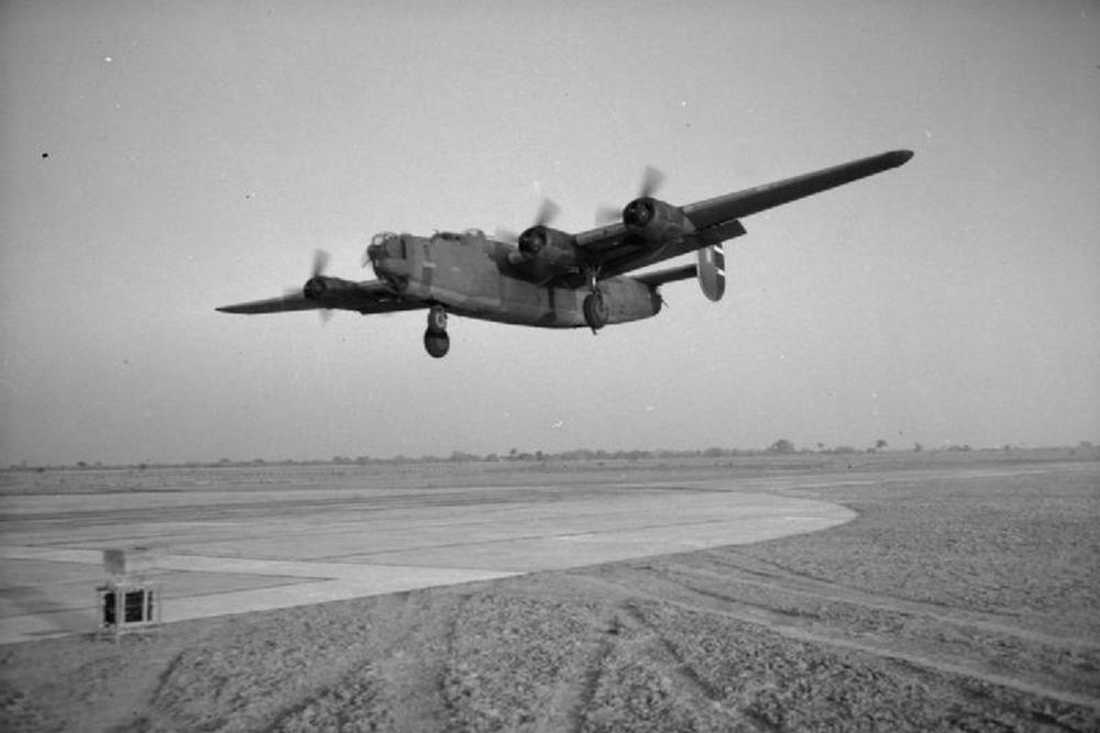 Crashlocatie Consolidated Liberator C Mk. VII (C-87) EW618