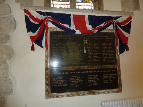 War Memorial St. Mary Church
