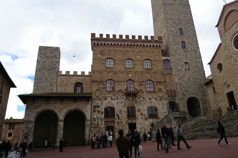 Memorial Liberation San Gimignano
