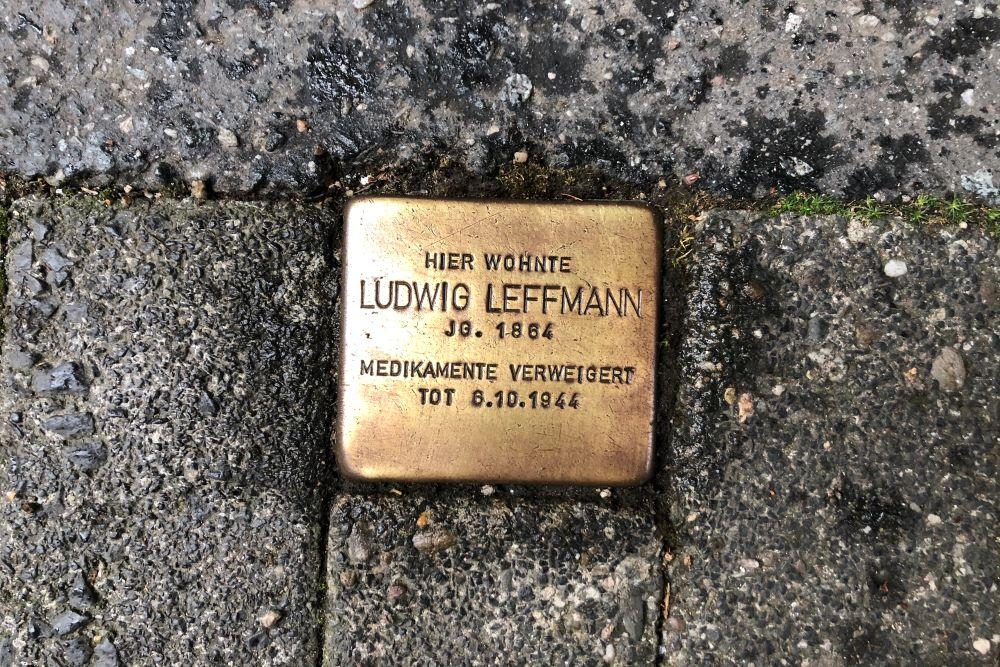 Stumbling Stone Adolfsallee 14