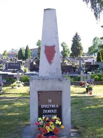 Collective Grave Soviet Soldiers Sulejówek