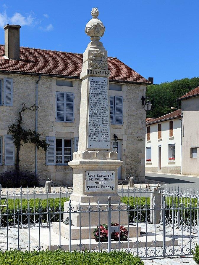 World War I Memorial Colombey Les Deux Eglises Colombey Les Deux Eglises Tracesofwar Com