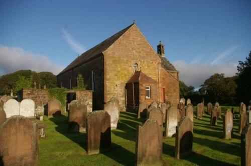 Commonwealth War Graves Caerlaverock Parish Churchyard
