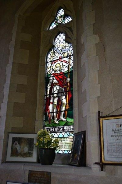 War Memorial Window St. Mary the Virgin Church