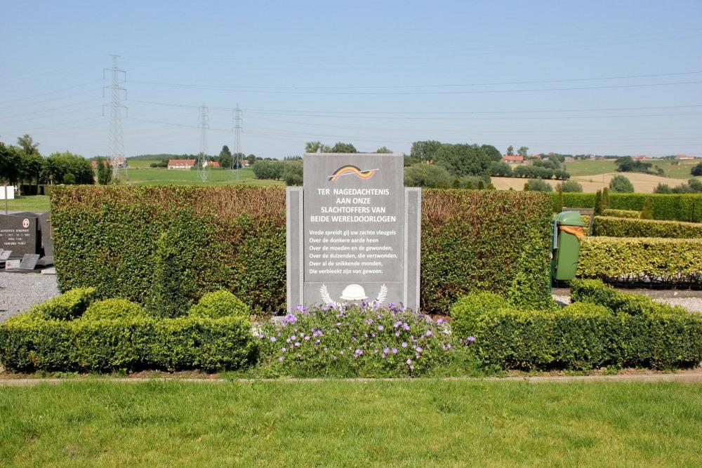War Memorial Cemetery Anzegem