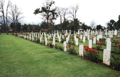 Commonwealth War Graves Haslar Royal Naval Cemetery