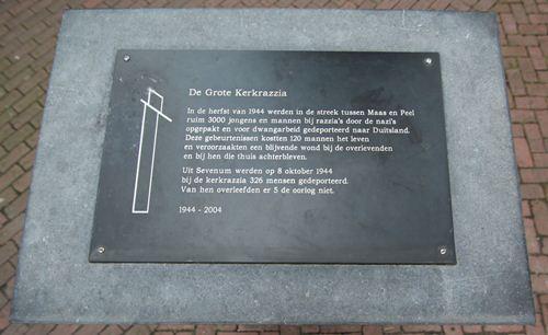 Monument 'Sporen die bleven' Sevenum