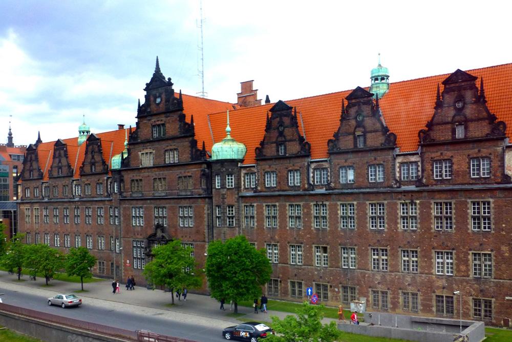 Former Headquarters Gestapo Danzig