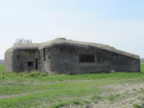 Landfront Vlissingen Stützpunkt Kolberg - Bunker 4 type 623