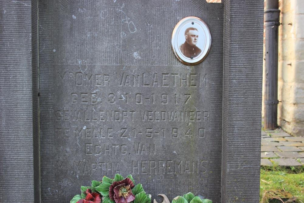 Belgian War Grave Lieferinge