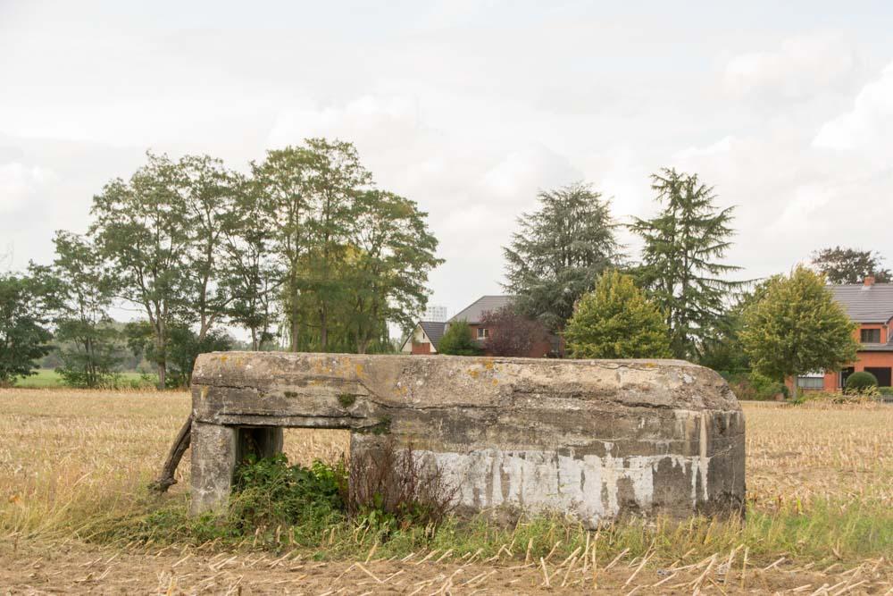 German bunker 129 Stellung Antwerp-Turnhout WWI Oud-Turnhout