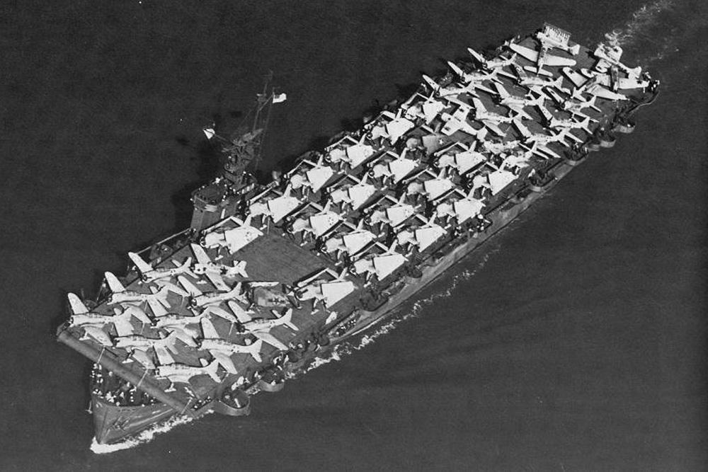 Ship Wreck  U.S.S. Liscome Bay (CVE-56)