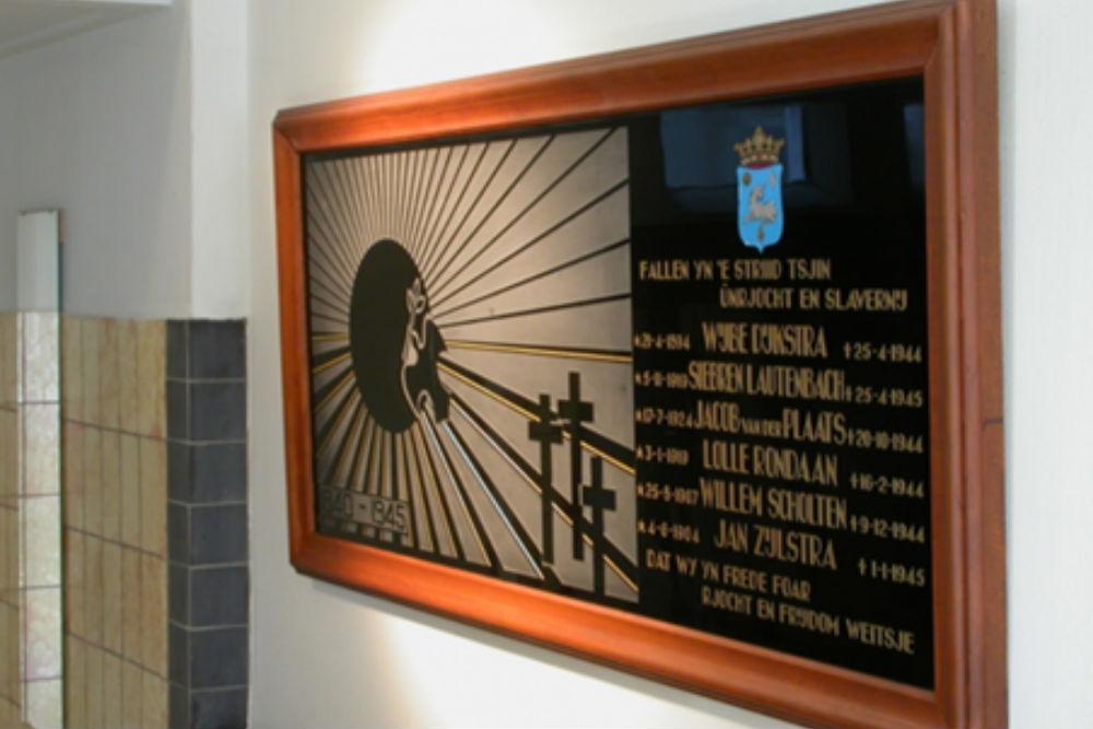 Plaque Town Hall Menaldumadeel