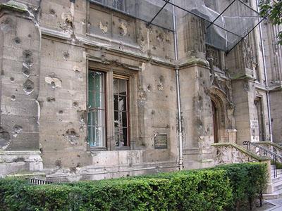 Kogelinslagen Palais de Justice