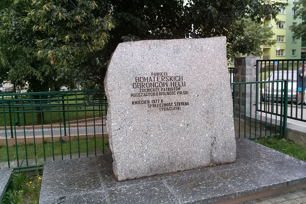 Defenders of Hel 1939 Memorial