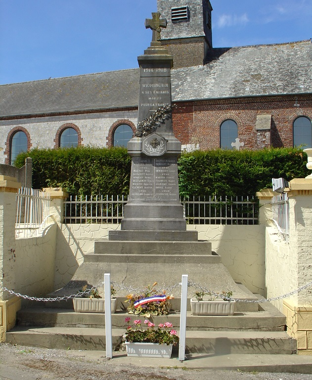 World War I Memorial Wicquinghem