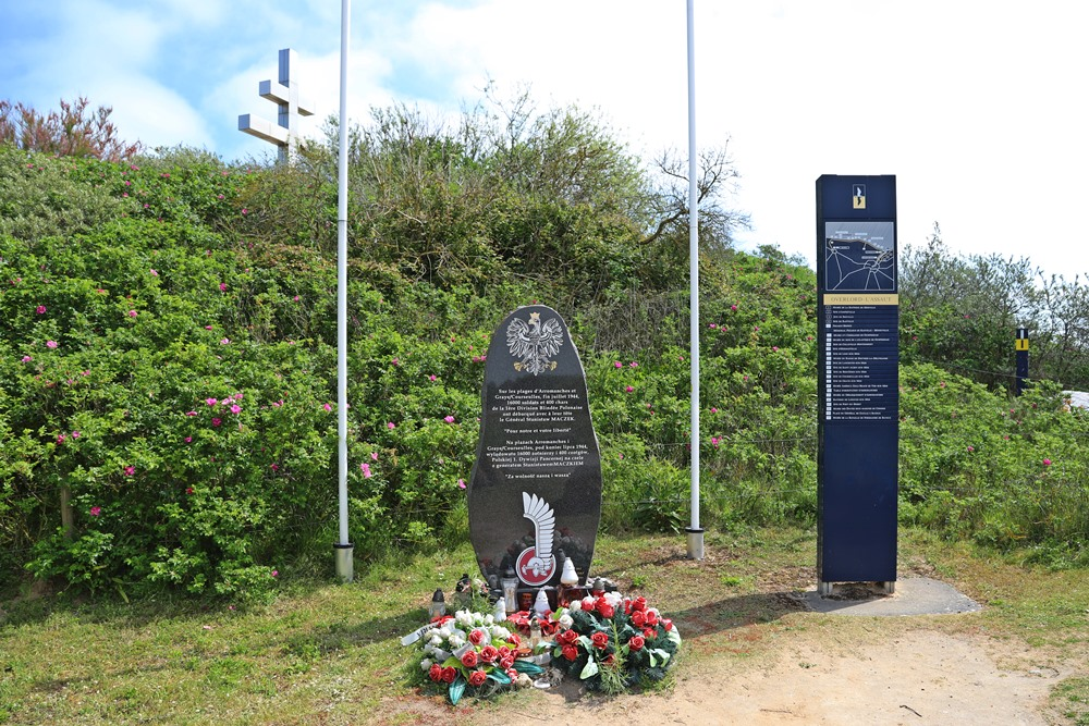 Memorial First Polish Armoured Division Graye-sur-Mer