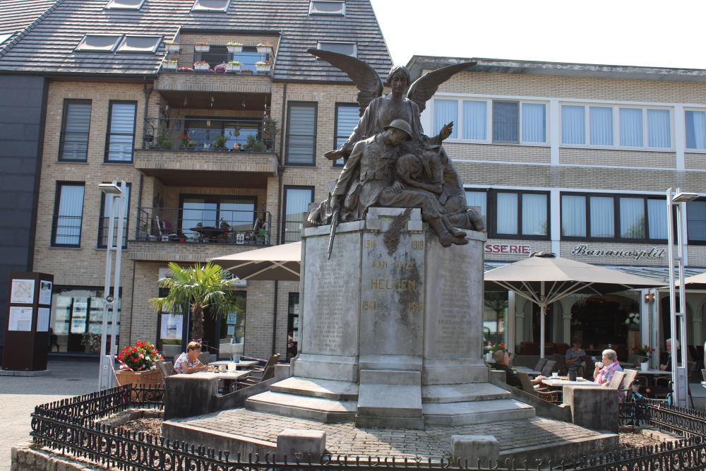 Oorlogsmonument Overpelt