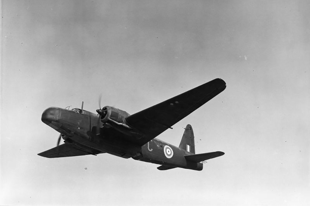 Crash Site Vickers Wellington IV Z1475