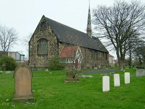 Oorlogsgraven van het Gemenebest St Simon Churchyard